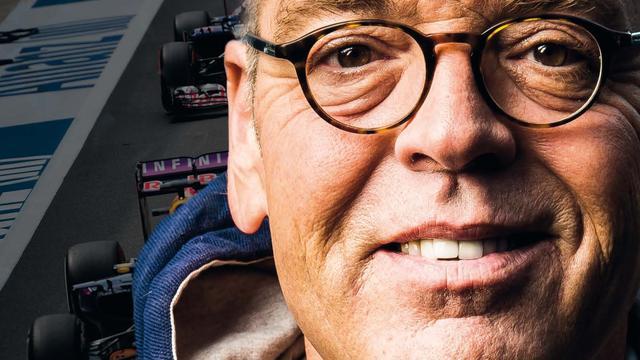 Olav Mol vindt publicatie boek tijdens goede periode Verstappen 'mooie mazzel'