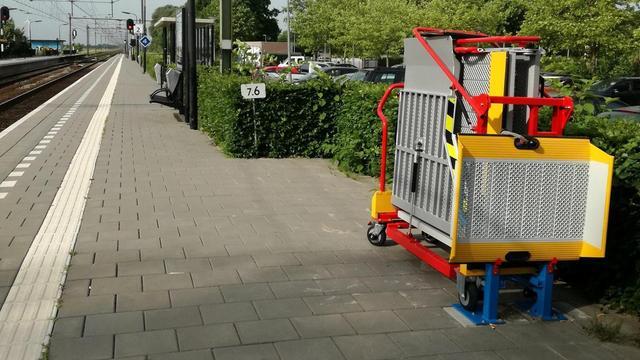 NS station Zevenbergen weer toegankelijk voor mindervaliden
