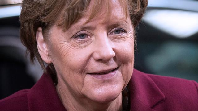 Merkel wint Four Freedoms Award 2016 in Middelburg