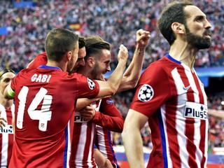 Spanjaarden door vroeg doelpunt met 1-0 te sterk in Vicente Calderon
