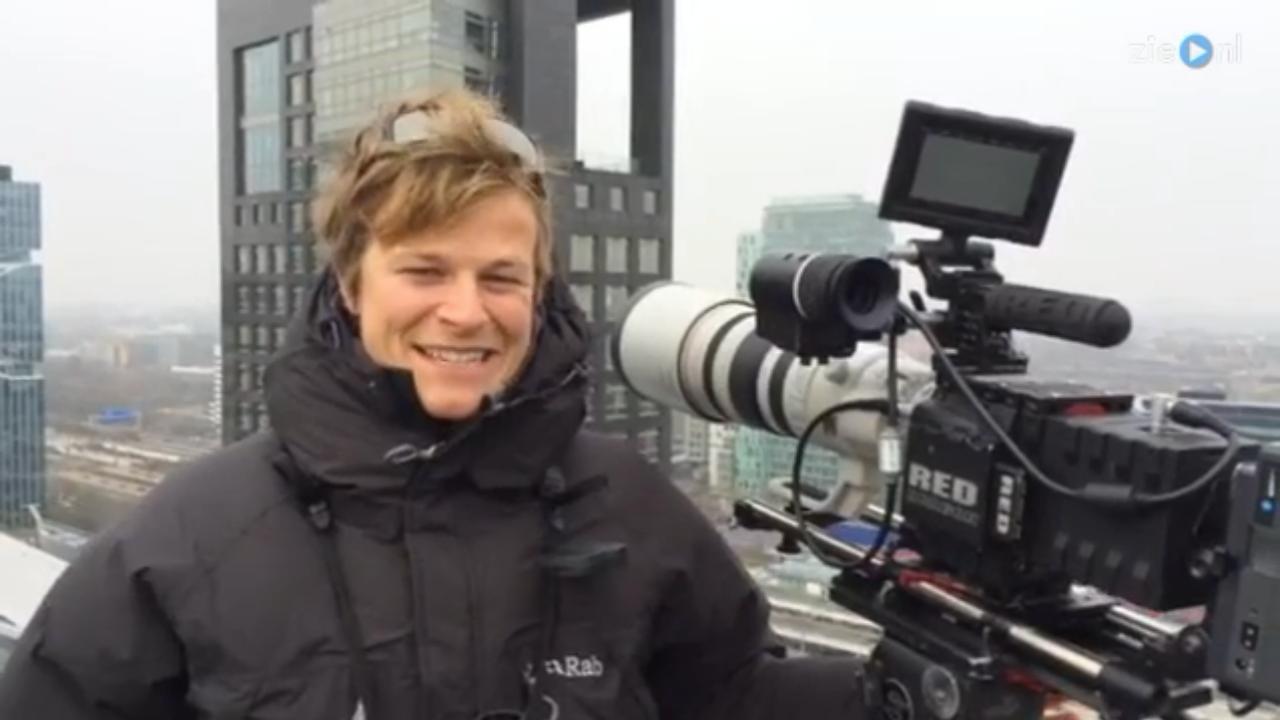 Cameraman aangezien voor sluipschutter in Amsterdam