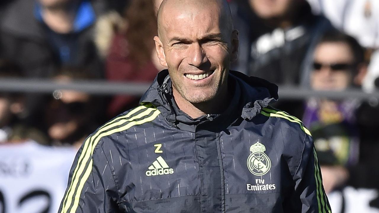 Zidane leidt eerste training bij Real Madrid