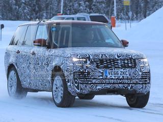 Voor het eerst zijn er beelden opgedoken van de gefacelifte Range Rover die in de pijplijn zit.
