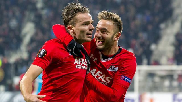 AZ overwintert in Europa League na knappe zege op Zenit