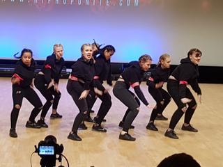 Meidendansgroep heeft een wildcard gekregen