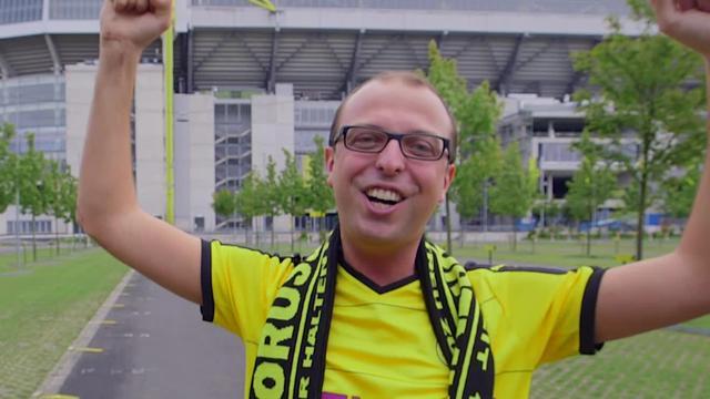 Fan Borussia Dortmund verbreekt record 'toooor' roepen