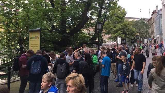 Pokémon Go-gekte slaat ook toe in Utrecht