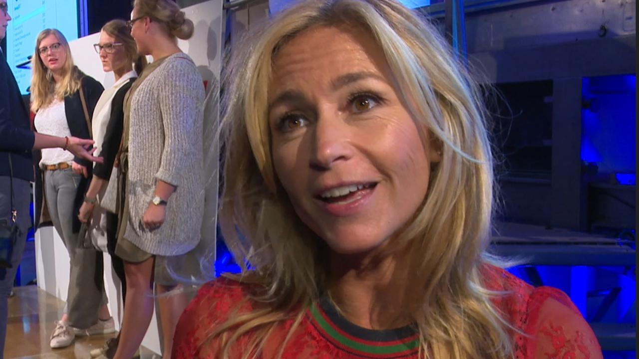 Wendy van Dijk legt uit waarom ze blij is met veilingopbrengst Hollandse Nieuwe