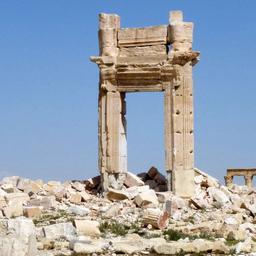 Strijders IS trekken zich terug uit Palmyra na Russisch bombardement
