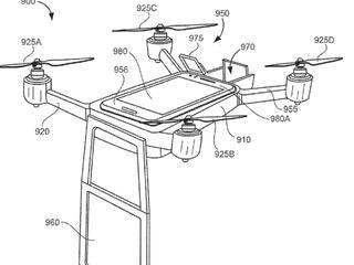 Drone met camera kan door kantoor heen vliegen