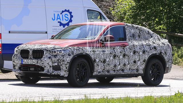 Beelden nieuwe BMW X4 duiken op