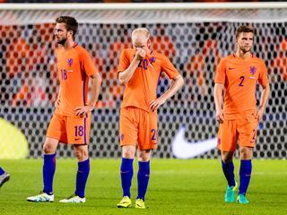Oranje speelde donderdagavond een oefenwedstrijd