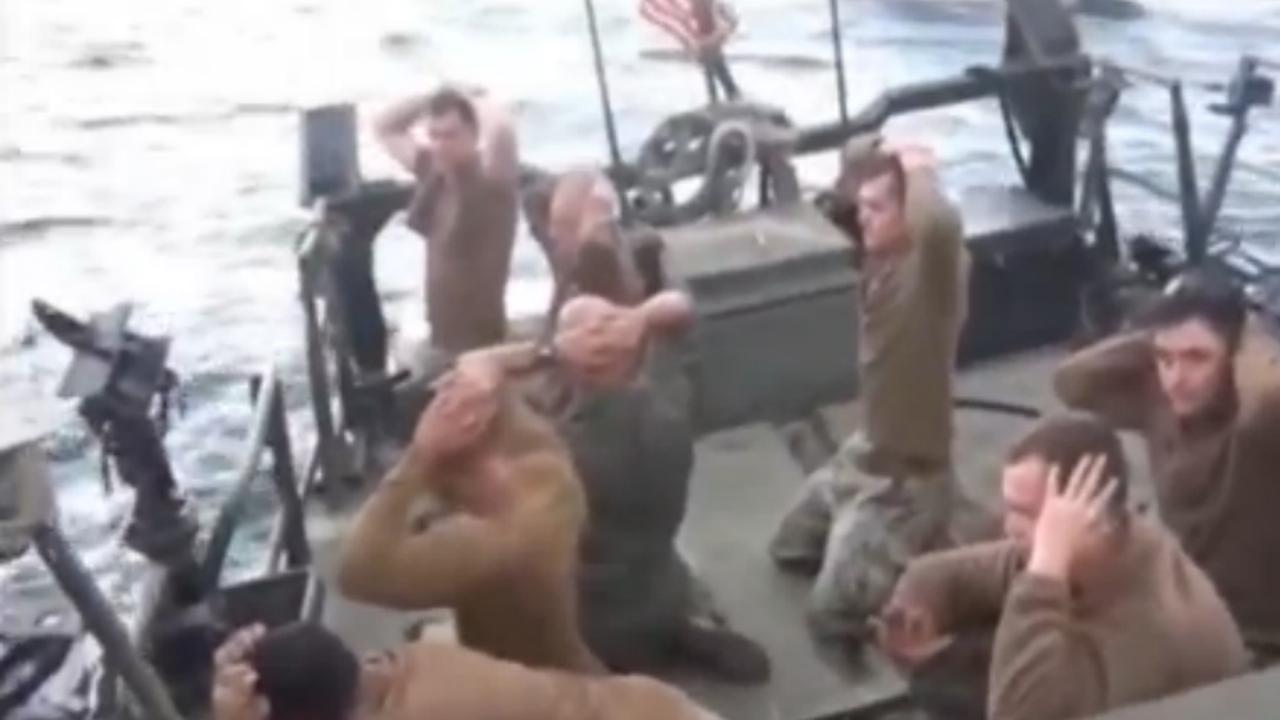 Iran houdt twee boten van Amerikaanse marine tegen