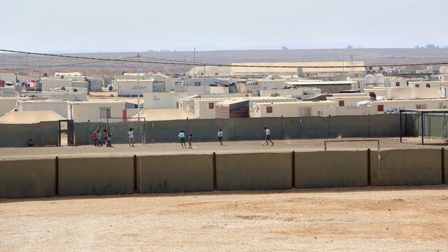 Doden bij aanval op vluchtelingenkamp Jordanië