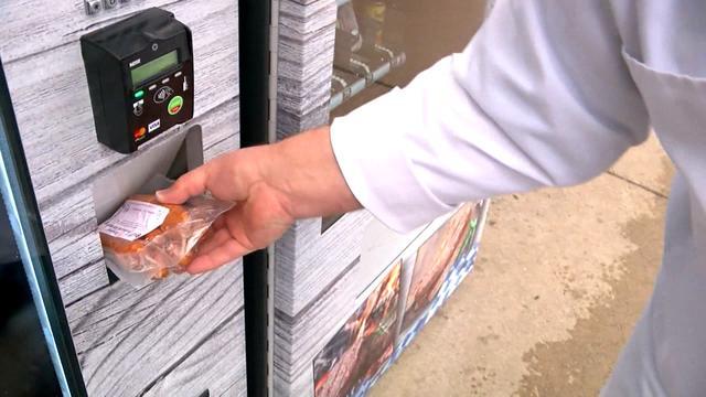 Slager in Amerika koopt vleesautomaat om altijd open te kunnen zijn