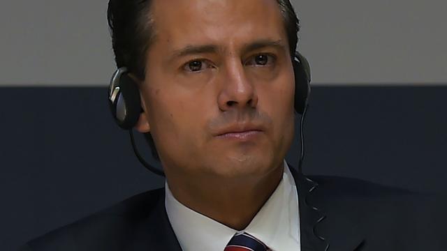 President Mexico plant bezoek Donald Trump