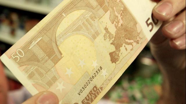 Bijna 40 procent meer valse eurobiljetten onderschept