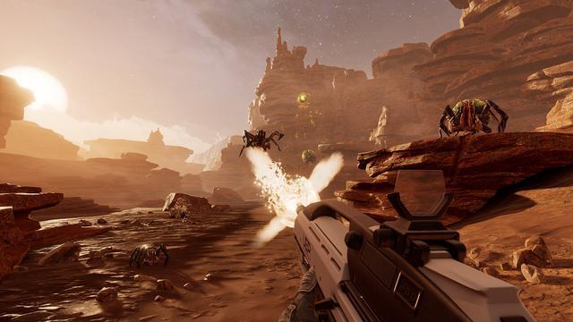 Ruimteshooter Farpoint voor PlayStation VR aangekondigd