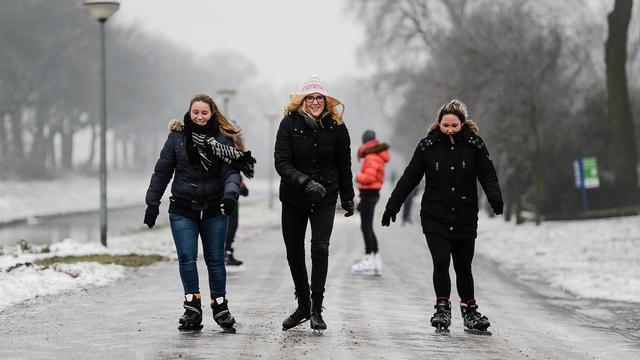 Kans op sneeuw in Groningen