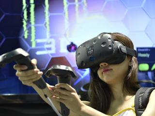 Abonnees kunnen maandelijks vijf games spelen op virtualrealitybril HTC Vive