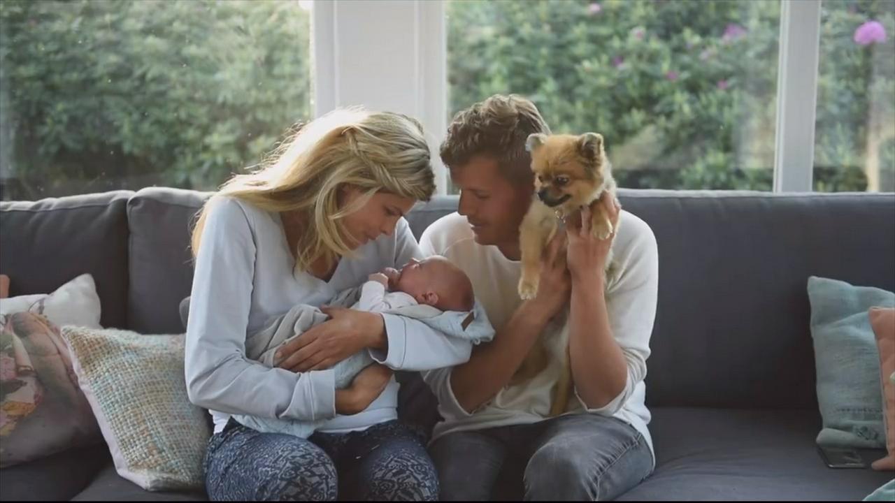 Kim en Jaap delen thuiskomst zoontje Muck