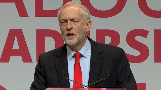Jeremy Corbyn herkozen als leider Britse Labourpartij