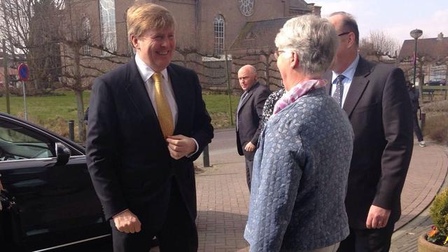 Koning Willem-Alexander verrast Fendertshof in Fijnaart met bezoek