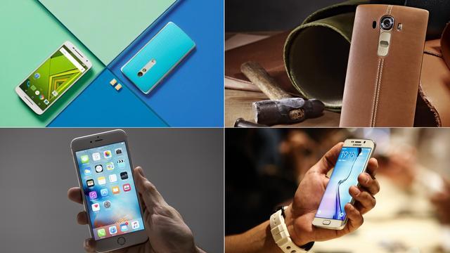 Laat een review achter: Nominaties Tech Award voor beste smartphone