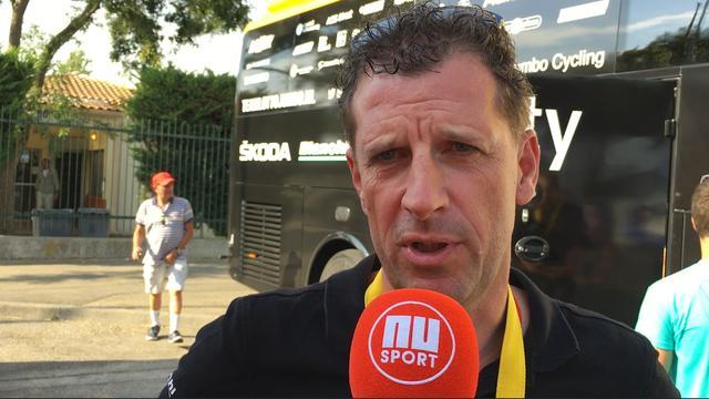 Ploegleider Lotto-Jumbo: 'Was snel duidelijk dat sprintersploegen het niet gingen redden vandaag'