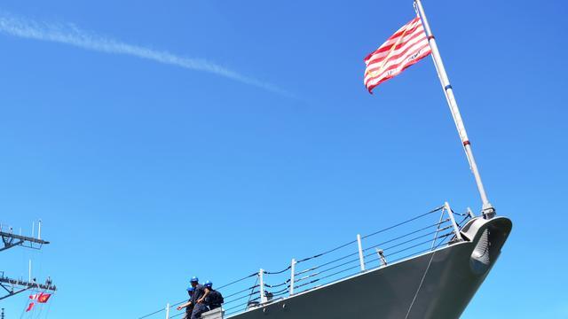 Amerikaans marineschip vanuit Jemen bestookt