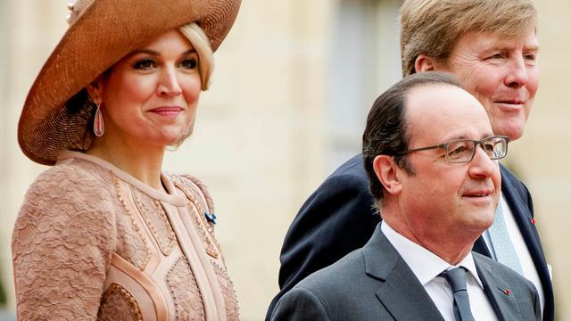 Hollande ontvangt Willem-Alexander en Máxima tijdens staatsbezoek
