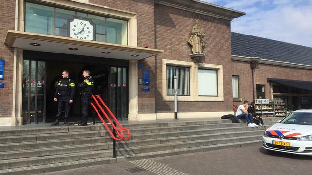 Extra politiebewaking voor treinstation Roosendaal