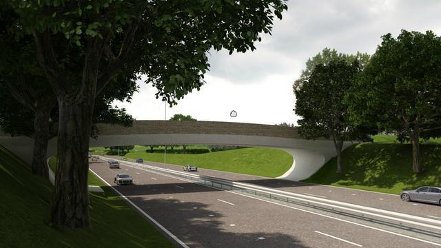 Oostelijk Ring weekend lang afgesloten wegen plaatsing viaduct