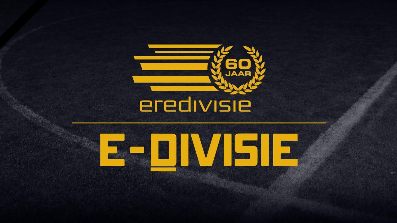 Dit zijn de uitslagen en vijf mooiste goals uit de E-Divisie
