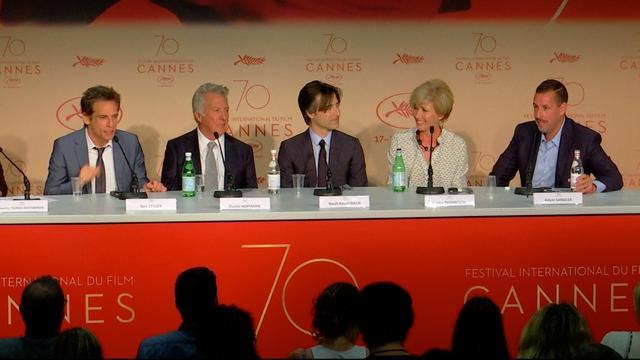 Cannes: Stiller en Sandler gingen vol voor vechtscène in nieuwe film