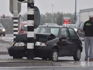 Het overige verkeer ondervond weinig hinder van het ongeval
