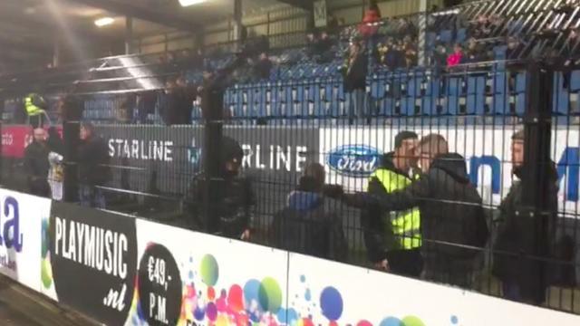 Boze NAC-supporters verlaten stadion bij 5-1-achterstand