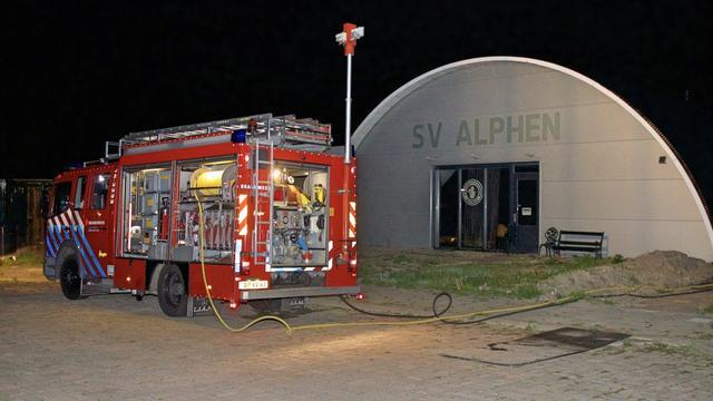 Drie tips na uitzenden beelden brandstichting schietvereniging Alphen