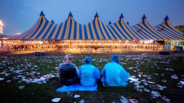 Festivalterrein Lowlands wordt omgegooid