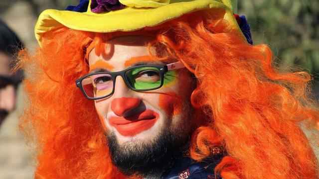 'Clown van Aleppo' komt om bij luchtaanval