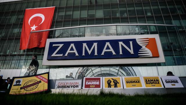 Nederlandse krant Zaman Vandaag uit kritiek op persvrijheid Turkije