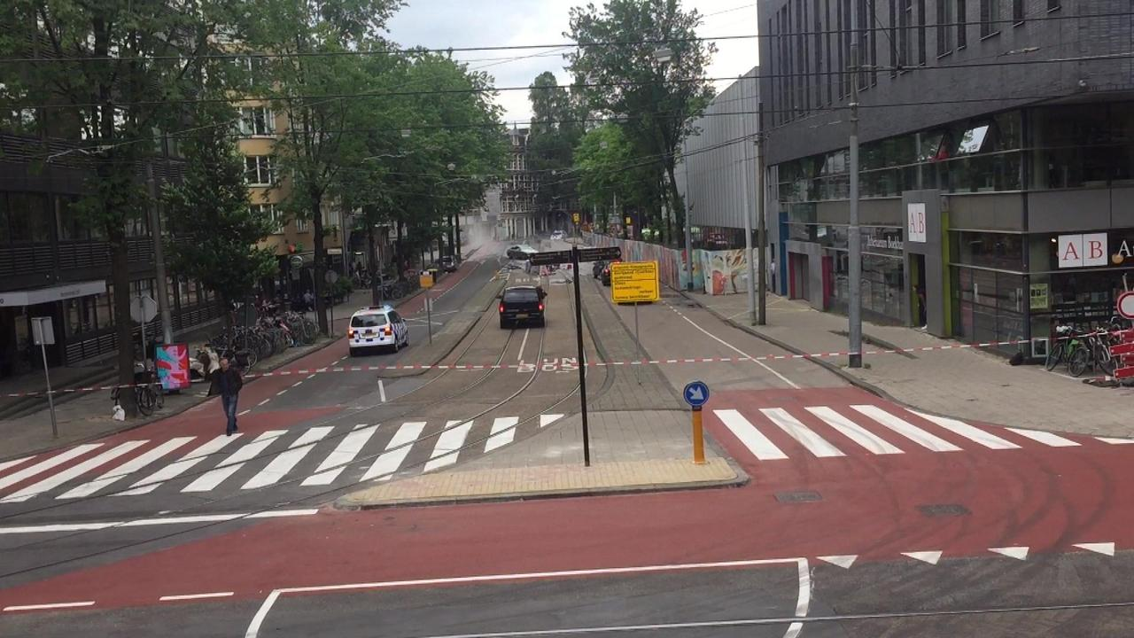 Amsterdam decor van nieuwe film Samuel L. Jackson