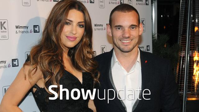 Show Update: Bijzondere onthulling over Wesley Sneijder en Yolanthe