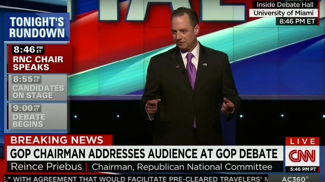 Voorzitter Republikeinen vertrouwt kandidaten
