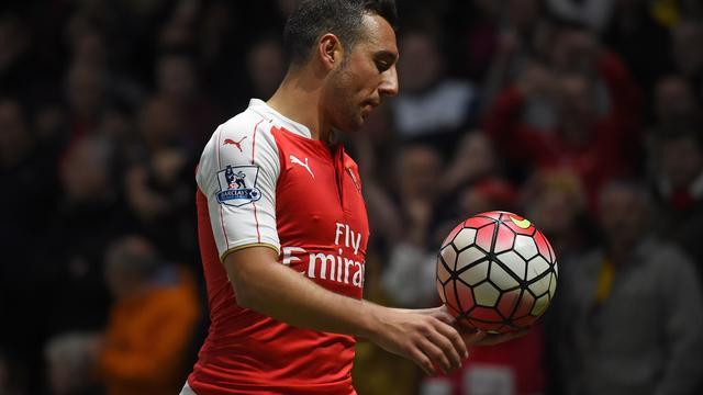 Cazorla pas in maart weer speelklaar bij Arsenal