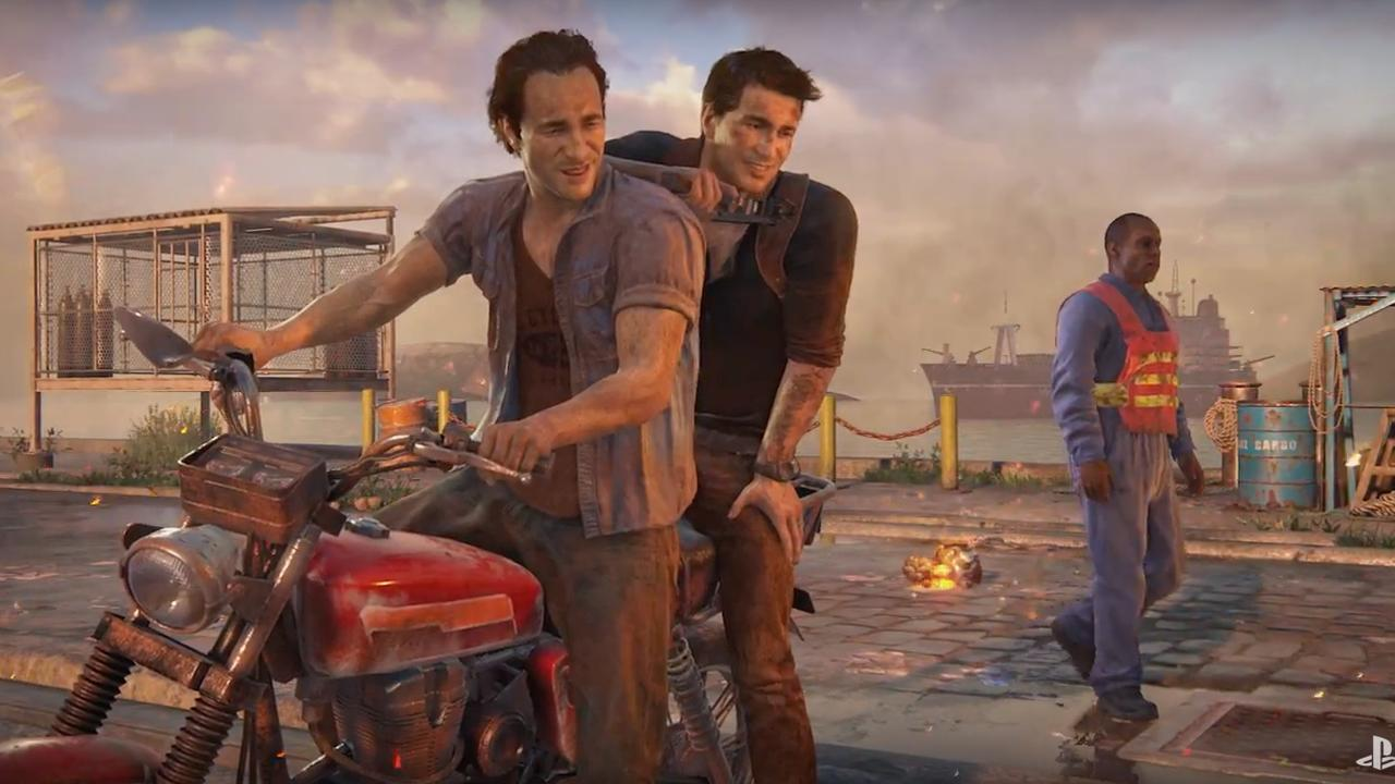 Trailer avonturengame Uncharted 4 voor PlayStation 4