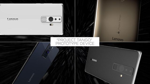 Lenovo maakt smartphone met experimentele Google-camera