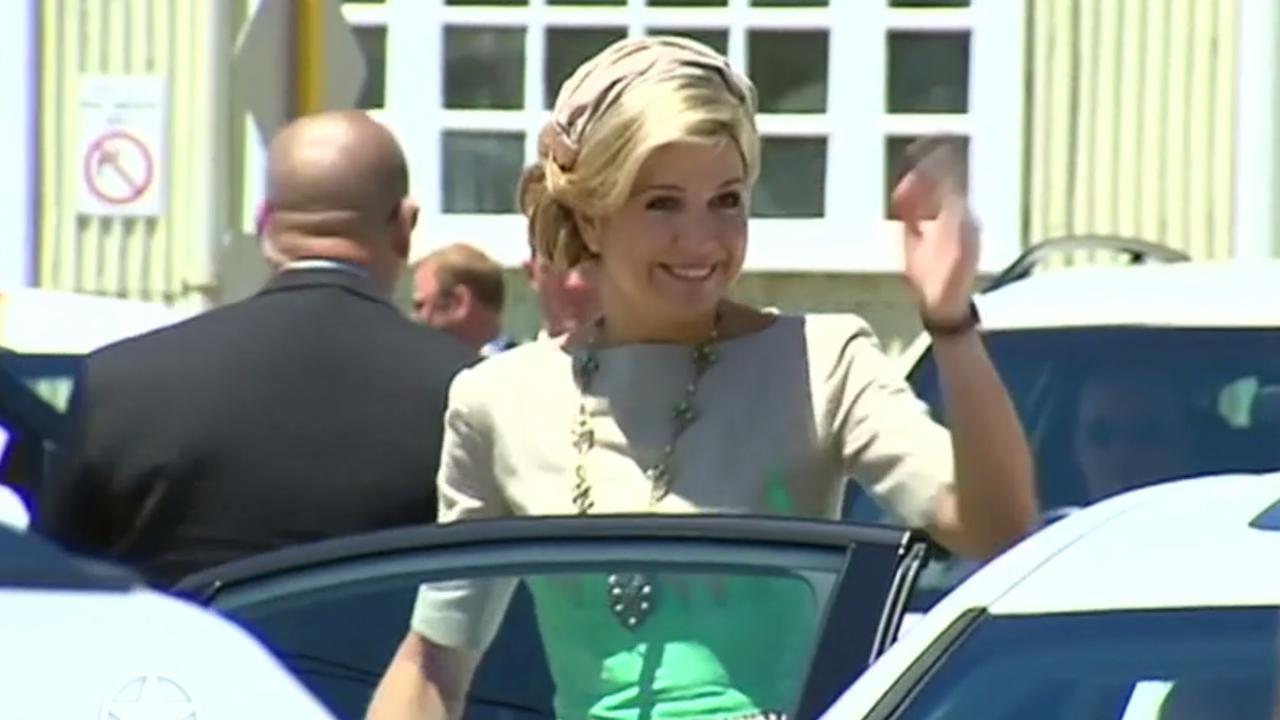 Máxima draagt collier van prinses Juliana