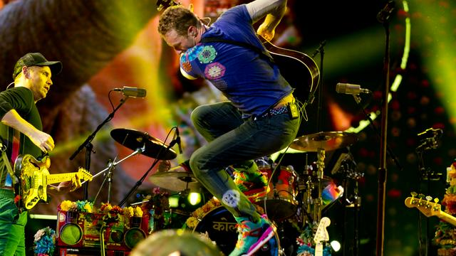 Fans kunnen concert Coldplay beleven in virtual reality