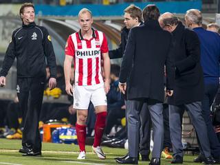 Middenvelder valt na twintig minuten spelen tegen Roda JC geblesseerd uit